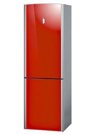 réfrigérateur congélateur rouge