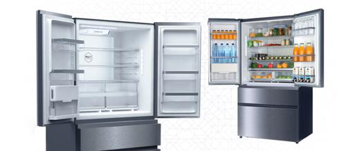 refrigerateur grande capacite 2 portes