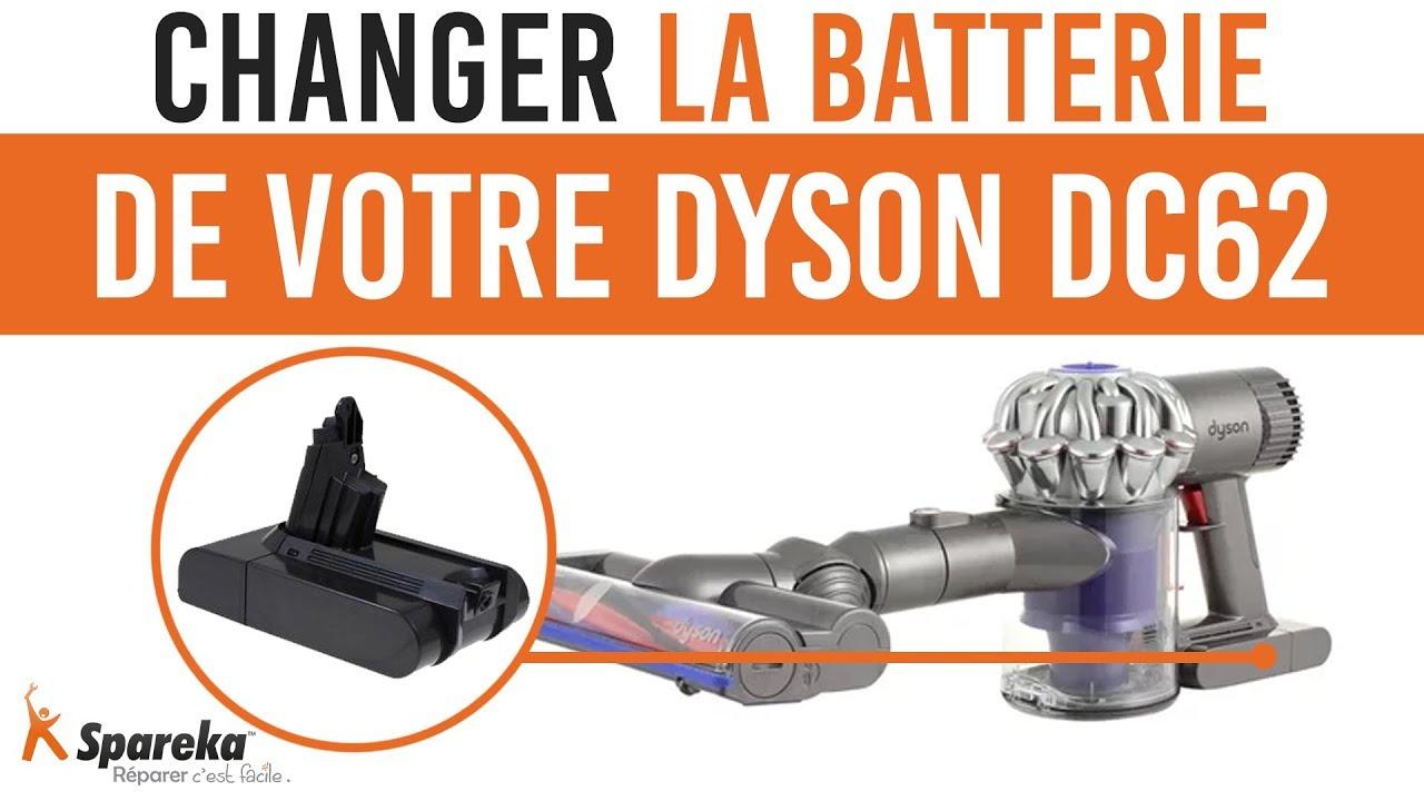 remplacement batterie dyson dc62