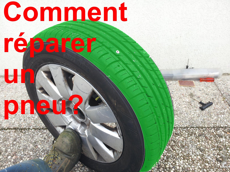 reparation pneu