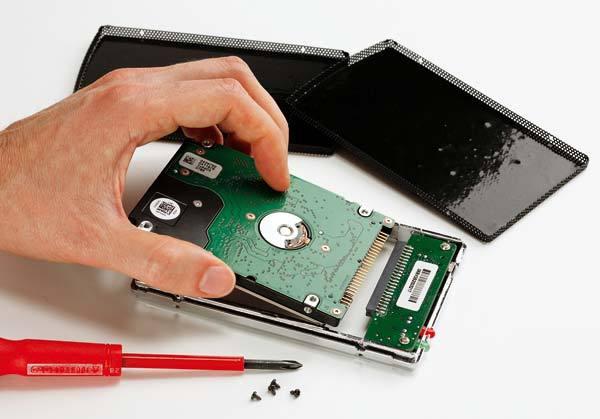 réparer disque dur externe wd
