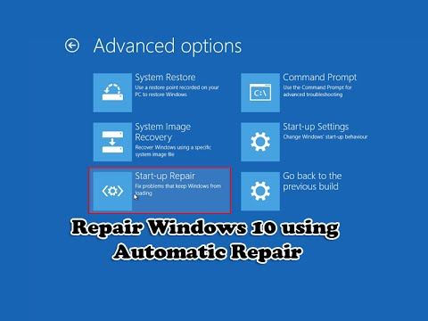 reparer windows 10
