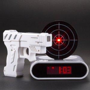 réveil pistolet