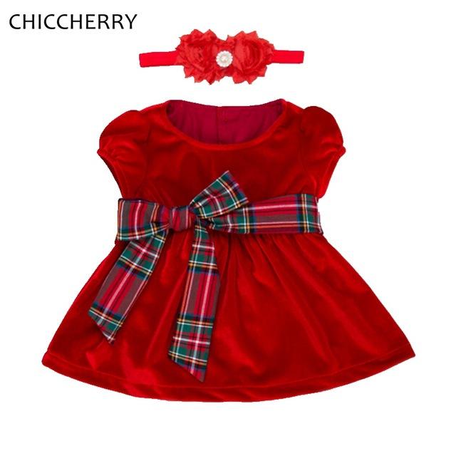 robe bebe fille noel