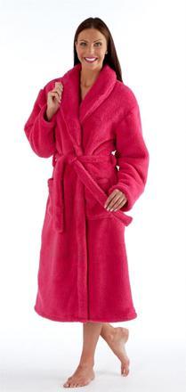 robe de chambre en polaire pour femme