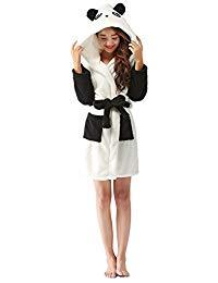 robe de chambre panda