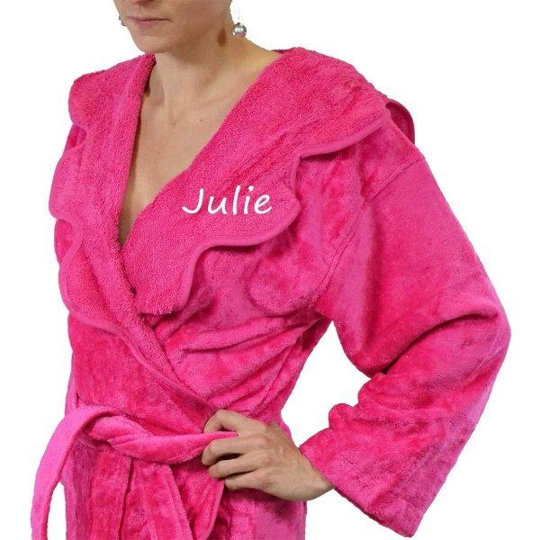 robe de chambre personnalisé femme