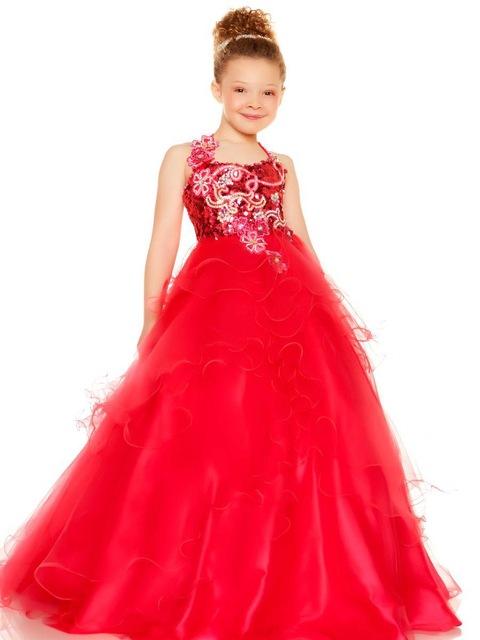robe de soirée enfant pas cher