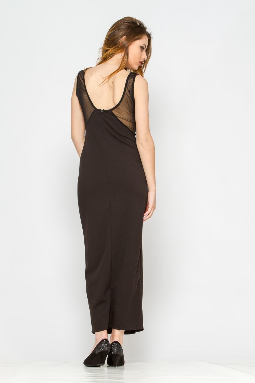 robe noire longue pas cher