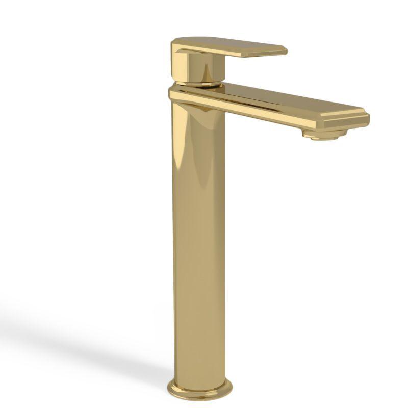 robinet doré