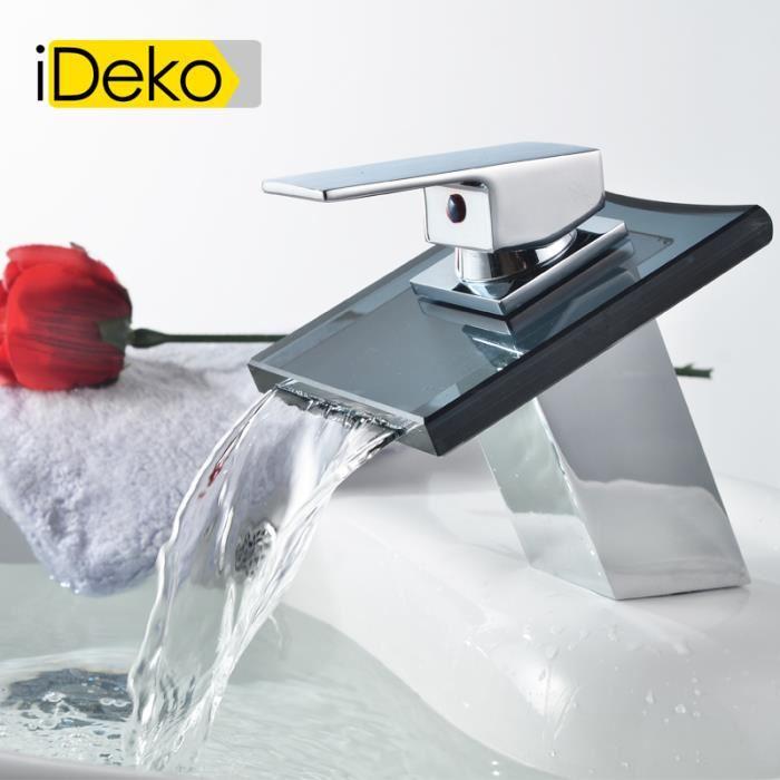 robinet lavabo cascade