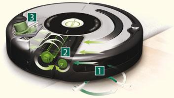 robot aspirateur fonctionnement