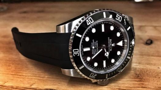 rolex bracelet silicone