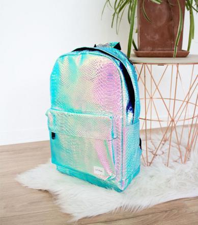 sac a dos holographique