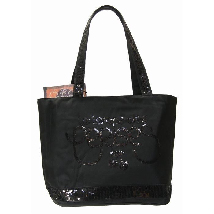 sac a main temps des cerises noir