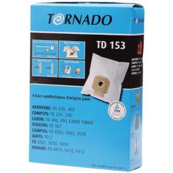 sac aspirateur tornado