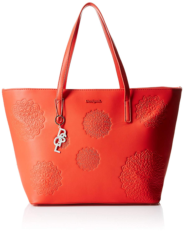 sac desigual orange