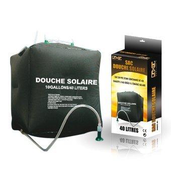sac douche solaire 40l