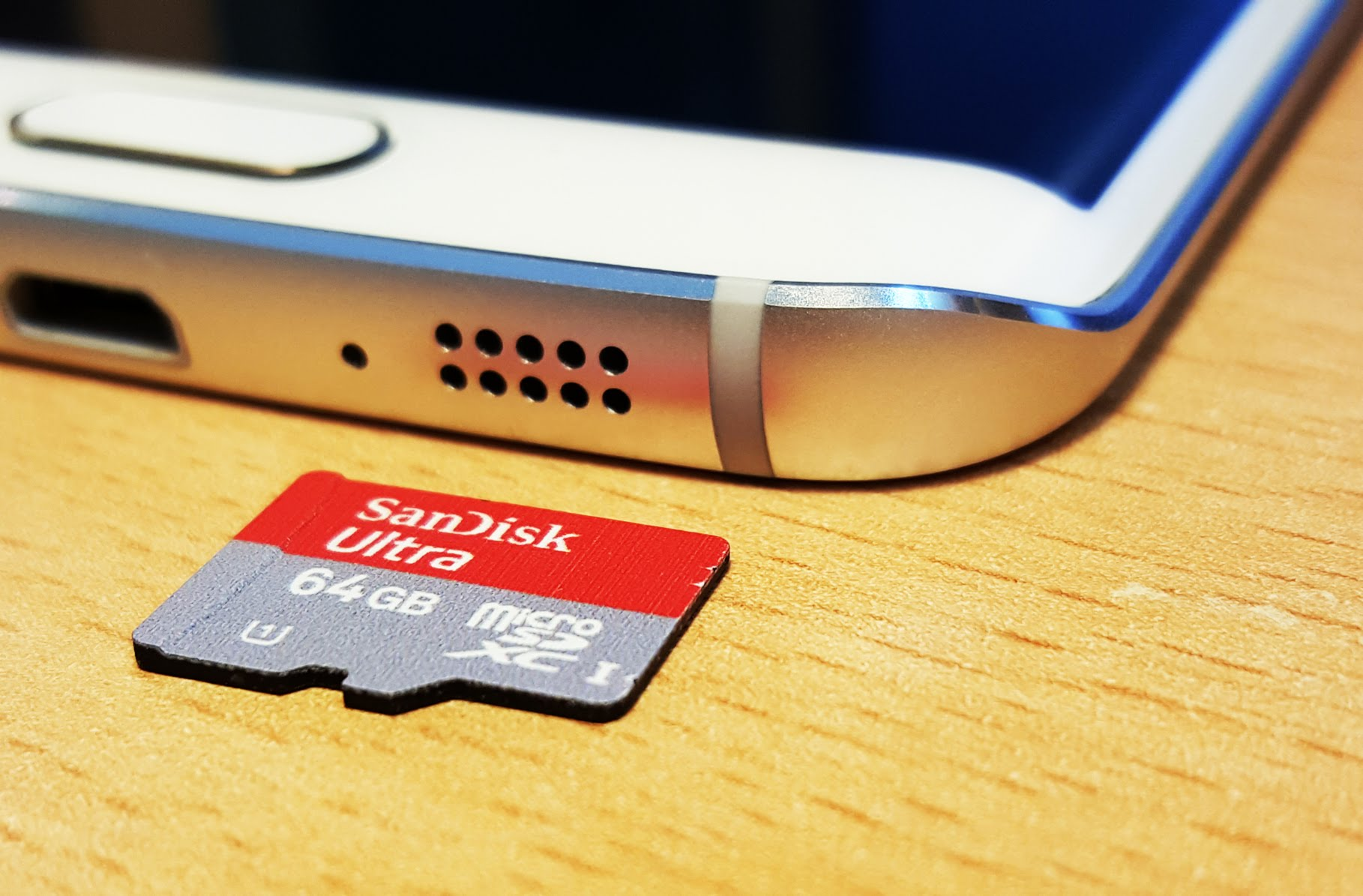 samsung galaxy s6 carte micro sd