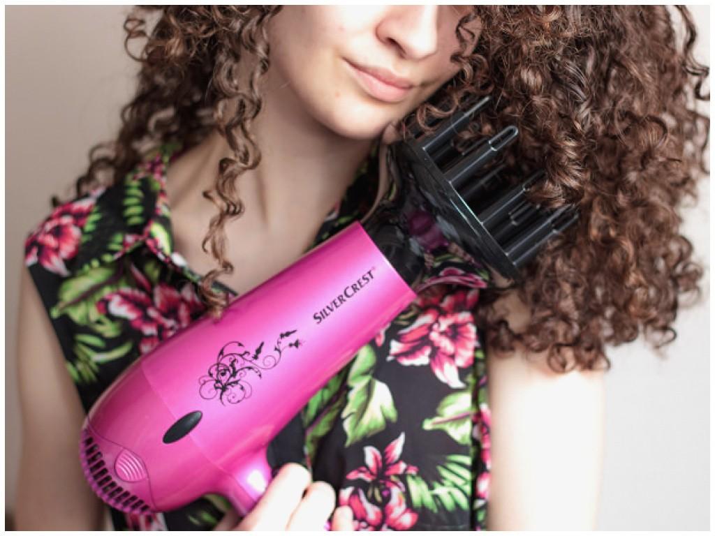 sèche cheveux diffuseur boucles