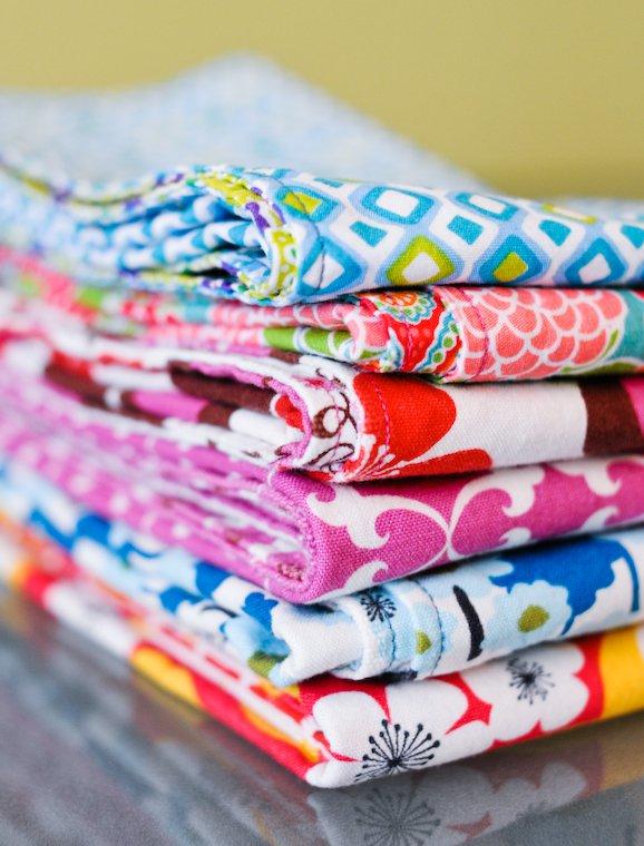 serviette de table en tissu