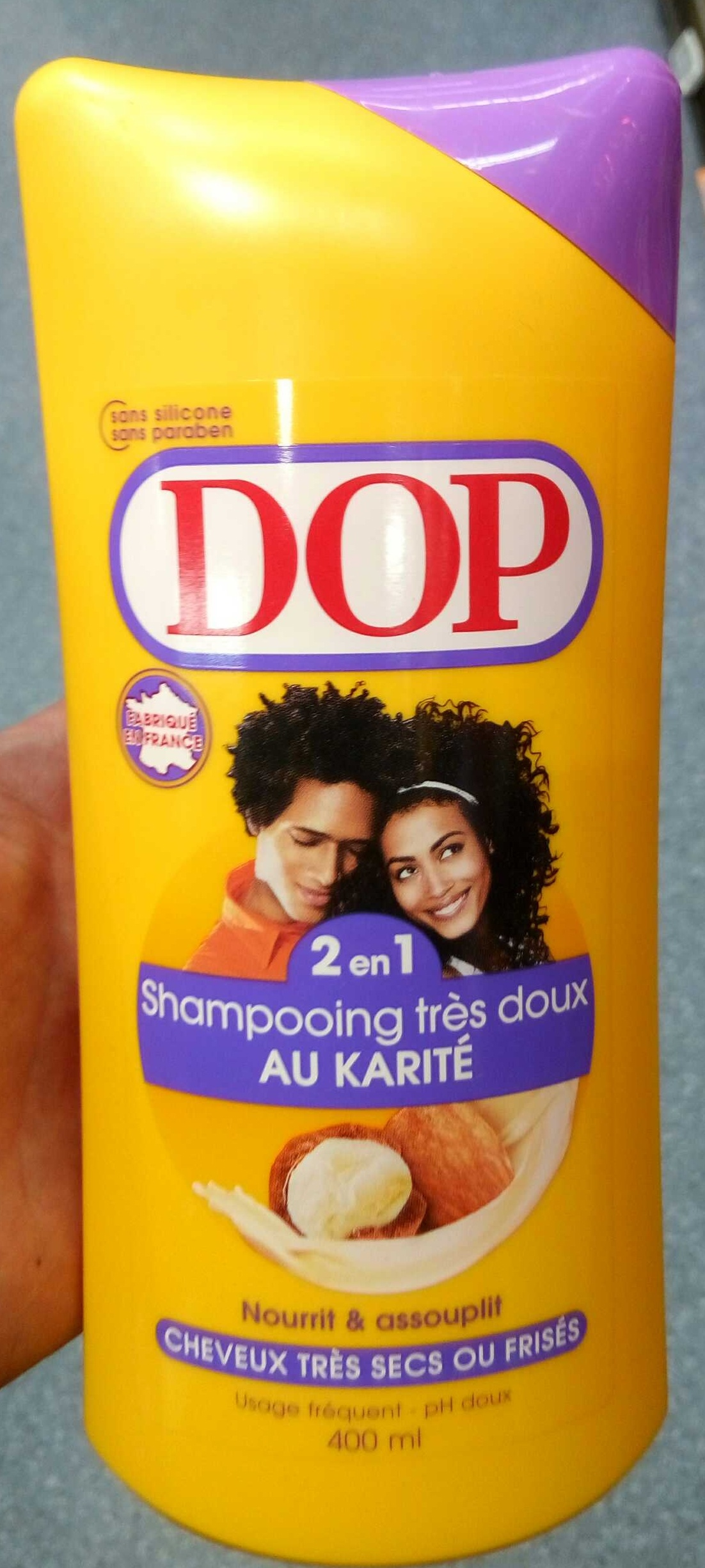 shampoing dop 2 en 1