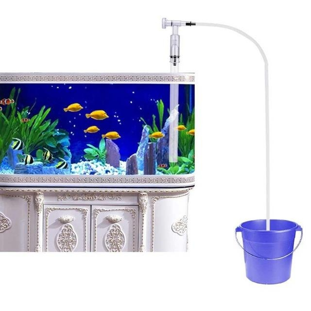 siphon pour aquarium