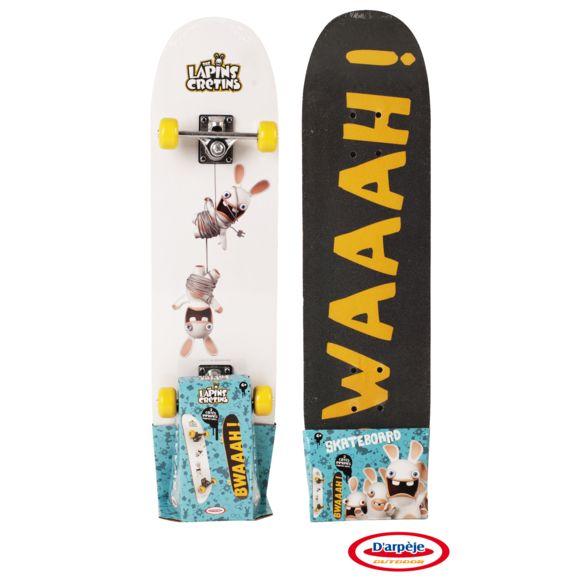skateboard lapin crétin