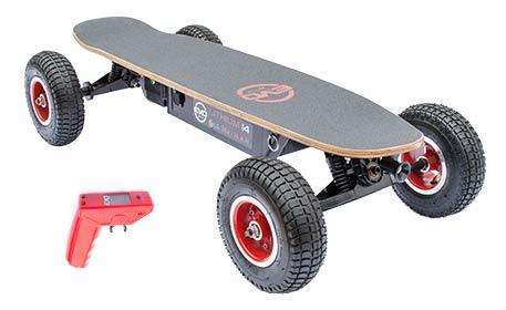 skateboard tout terrain
