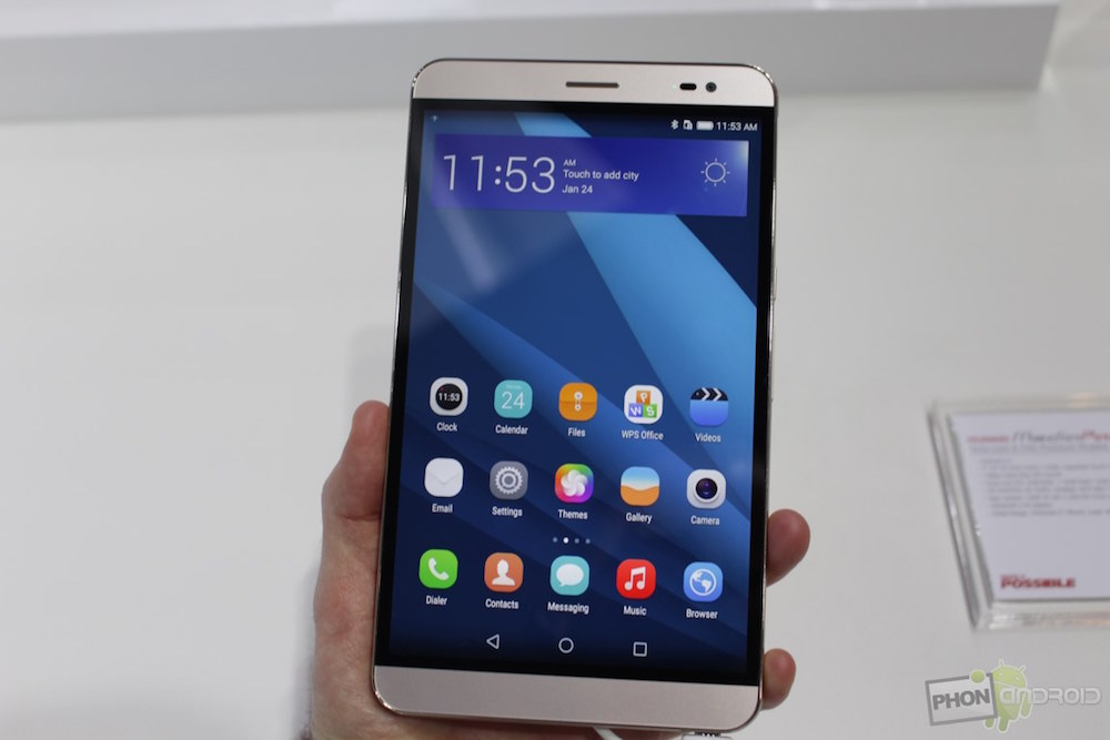 smartphone 7 pouces huawei