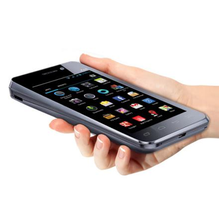 smartphone avec pico projecteur