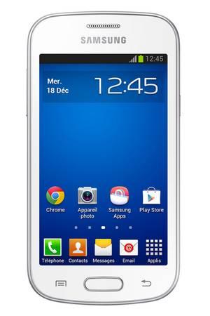 smartphone samsung galaxy trend lite blanc
