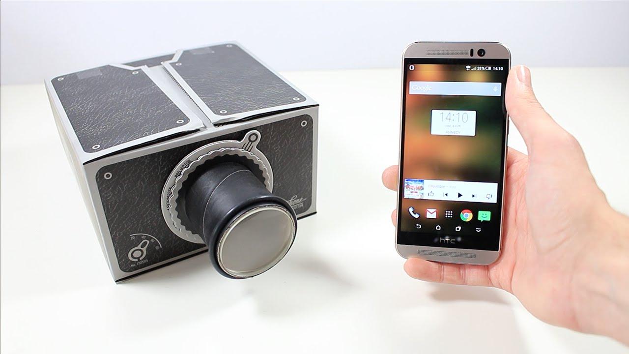 smartphone videoprojecteur