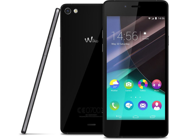 smartphone wiko test