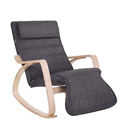 songmics rocking chair