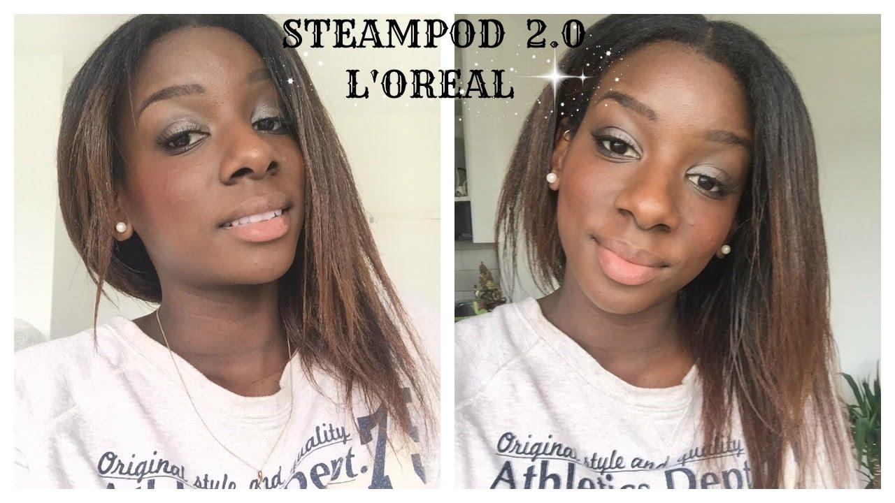 steampod cheveux crepus