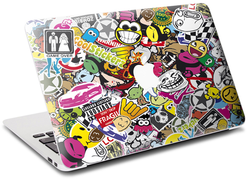 sticker macbook 13