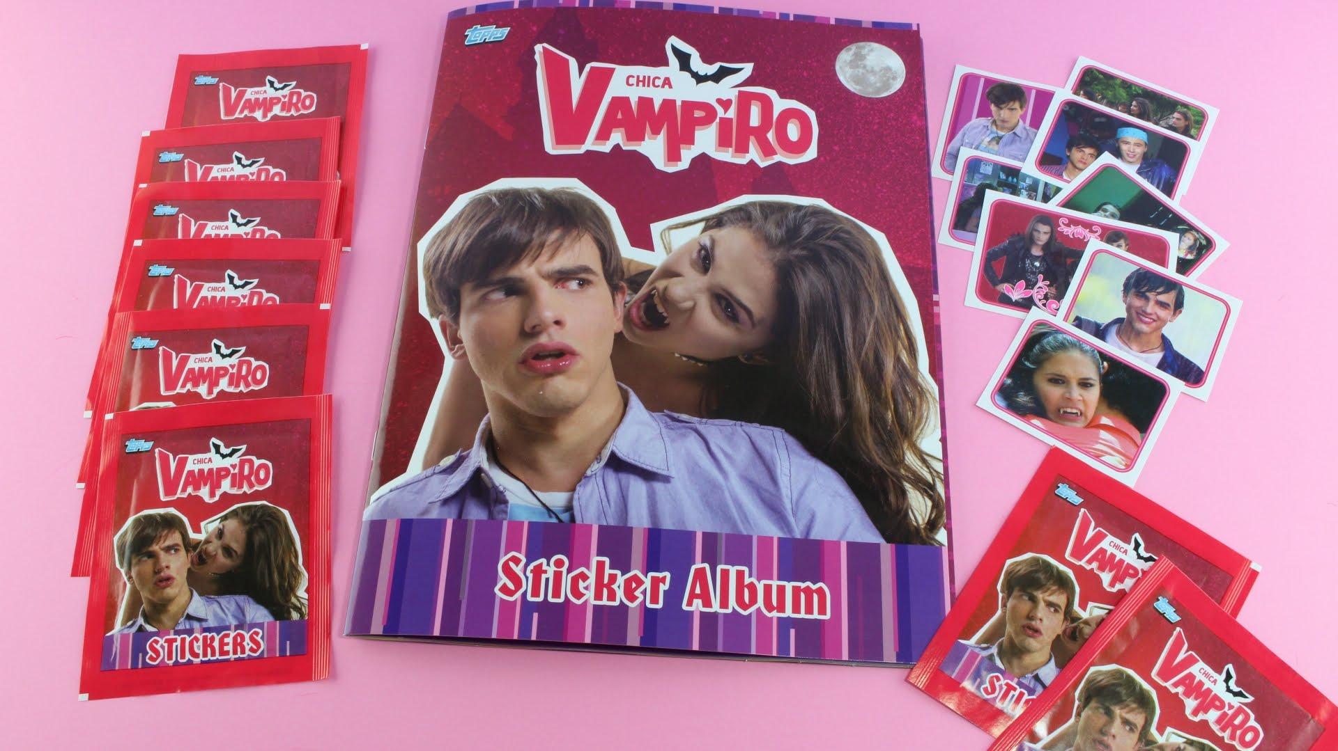 stickers chica vampiro