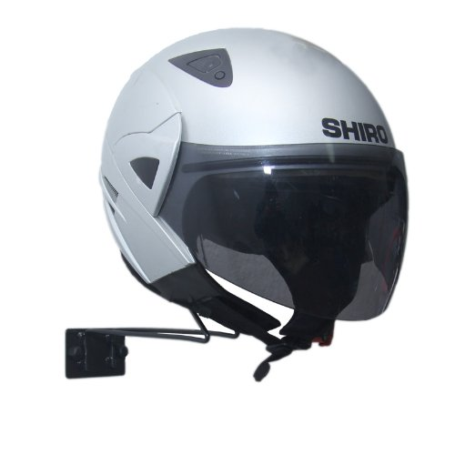 support casque moto mural