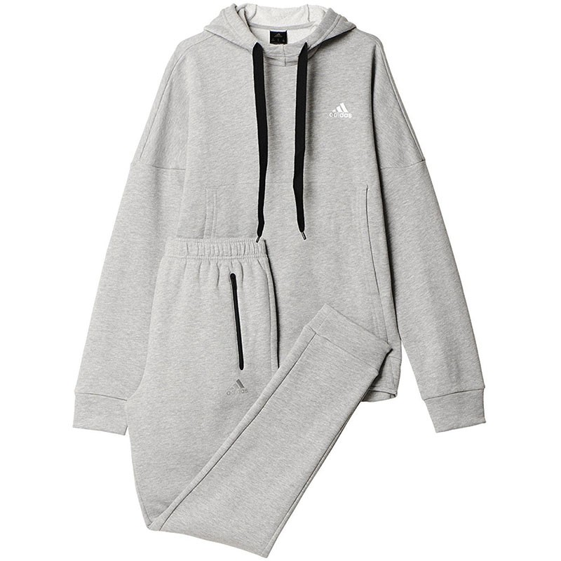 survetement adidas homme gris