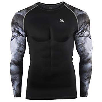 t-shirt compression homme