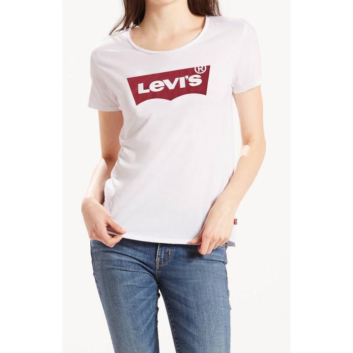 t shirt levis blanc femme