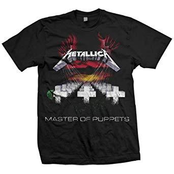 t shirt metallica