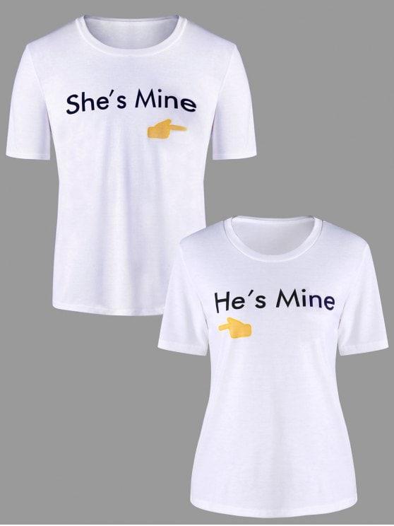 t shirt pour couple