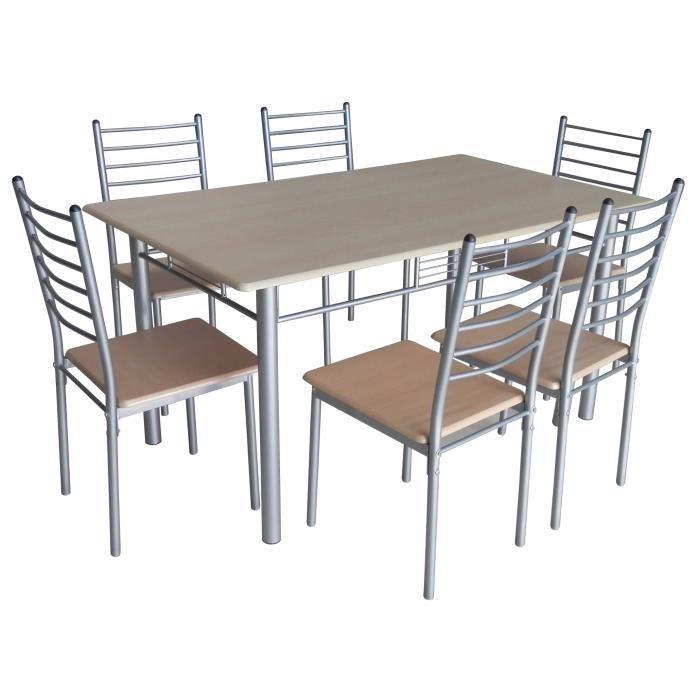 table 6 chaises pas cher