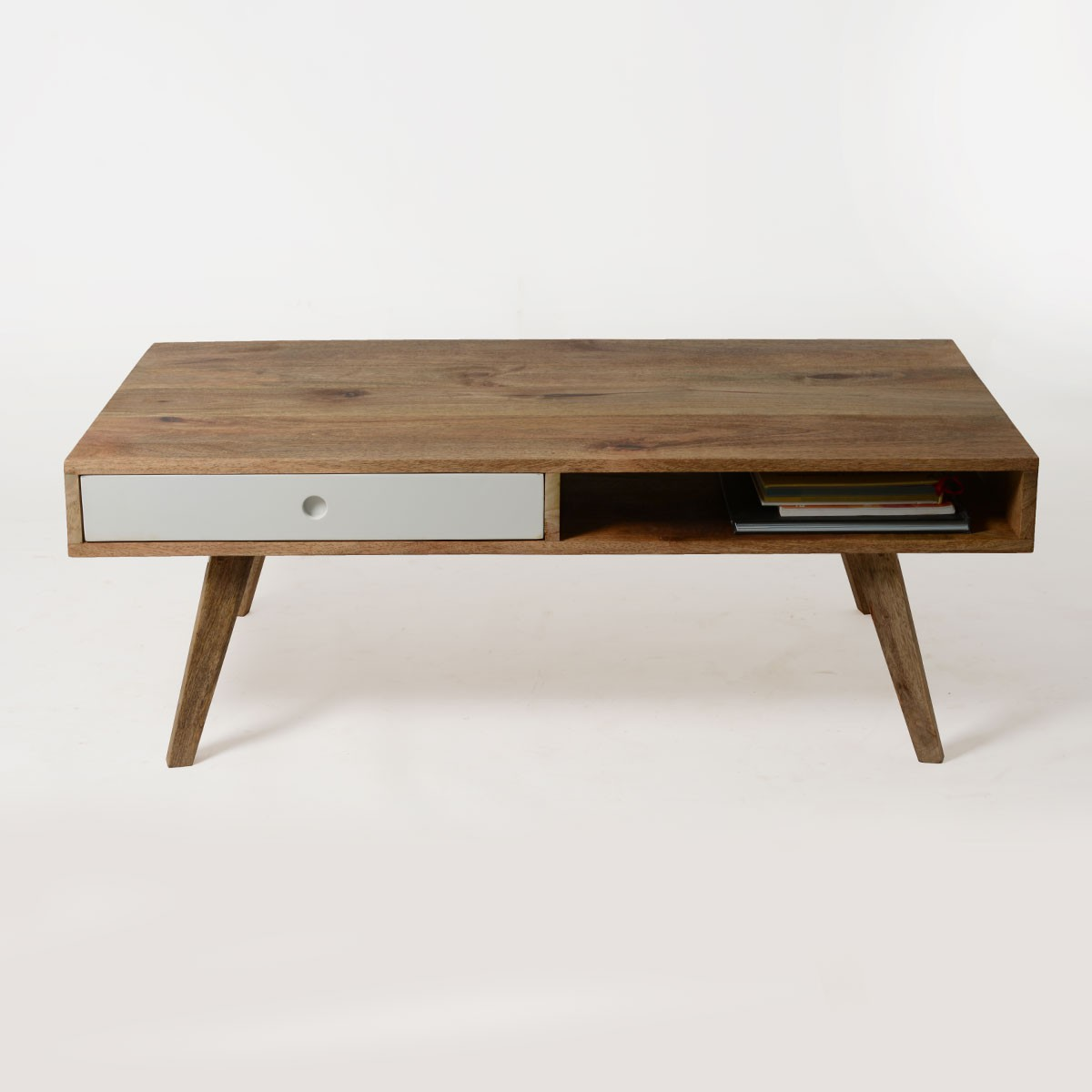 table basse scandinave bois