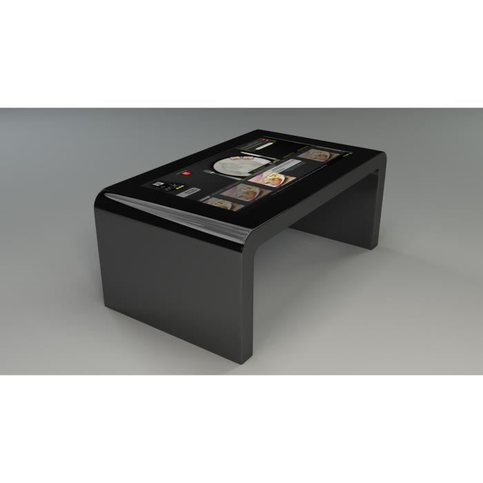 table basse tactile pas cher