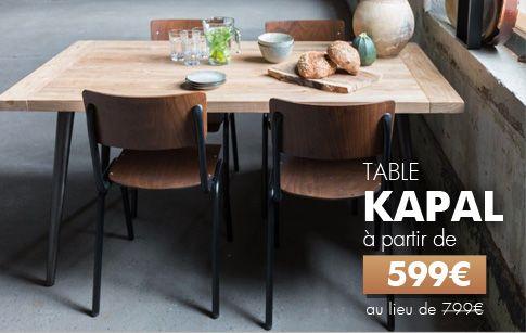 table vintage pas cher