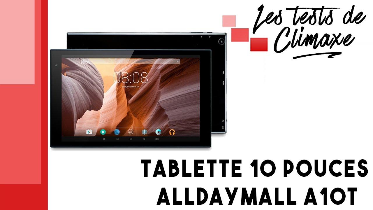 tablette alldaymall 10 pouces