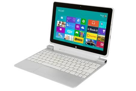 tablette avec clavier acer